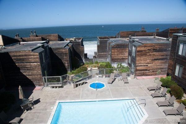 Del Monte Beach Als Community Pool Condo Ocean Harbor 110 House