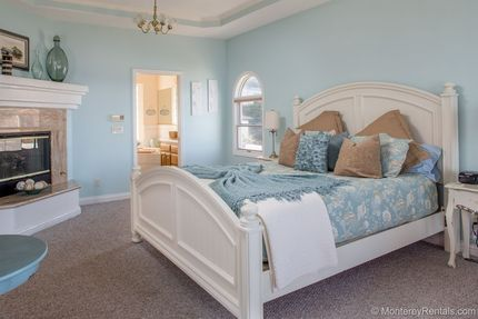 5 Bedroom Oceanfront Mediterranean Beach House Pacific Grove Ca