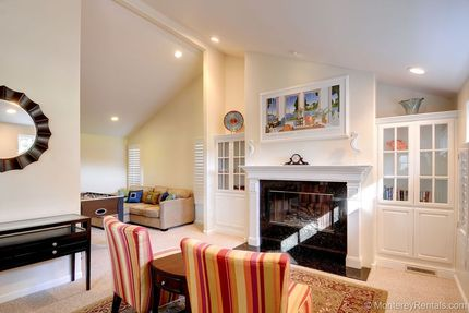 Living Room - Seabreeze, Pacific Grove Retreat