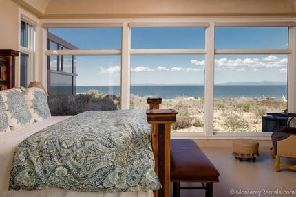 Master Bedroom View - Beach House Seaspray, Del Monte Beach