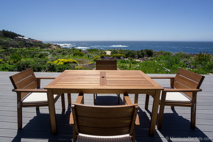 Patio/Deck - Seacliff, Carmel Highlands