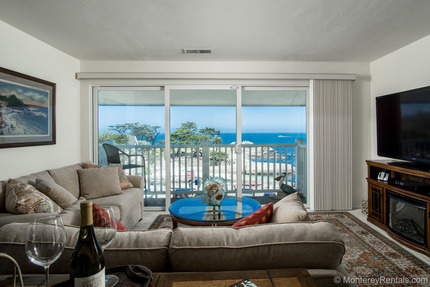 Living Room View - Lovers Point 7, Pacific Grove Retreat