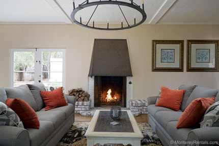Living Room - Trappers Trail, Monterey Peninsula Country Club