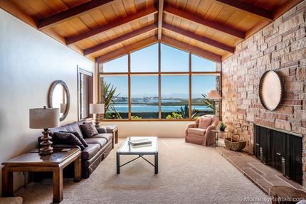 Living Room - Capurro Ranch at Moss Landing
